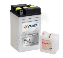 Motobaterie VARTA B49-6, 008011, 6V 8Ah 40A