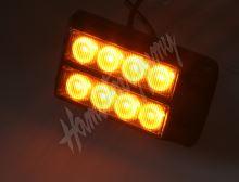 kf004d x PREDATOR dual 8x1W LED, 12-24V, oranžový, ECE R10 R65