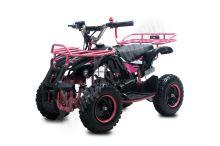 Dětská dvoutaktní čtyřkolka ATV Torino Deluxe  49ccm růžová