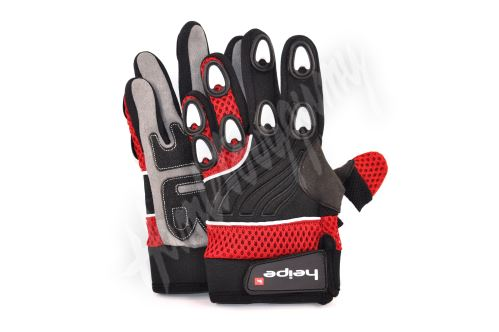 Dětské MotoCross rukavice červené
