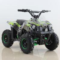 Dětská elektro čtyřkolka ATV Tiger 1000W Racing zelená