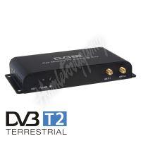 dvb-t05 DVB-T2/HEVC/H.265 digitální tuner s USB + 4x anténa