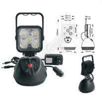 wl-Li15 AKU LED světlo s magnetem, 5x3W, 220x115mm