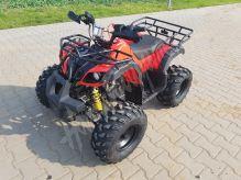 """Dětská čtyřtaktní čtyřkolka ATV Hummer RS 125ccm DELUXE červená 3 rych. poloautomat 8""""kola"""