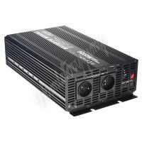 353024 Měnič napětí z 24/230V + USB, 3000W