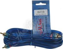 xs-2130 RCA audio kabel BLUE BASIC line, 3m