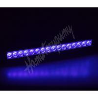 kf052blue x LED světelná alej, 16x LED 1W, modrá 380mm