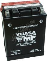 Motobaterie Yuasa YTX14AH-BS (12V, 12Ah, 210A)