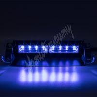 kf741blu PREDATOR LED vnitřní, 8x LED 3W, 12V, modrý