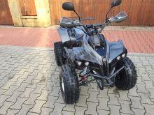Dětská elektro čtyřkolka ATV Warrior Delux XL 1500W 60V carbon Alu kola