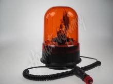 wl86H1 Halogen maják, 12 i 24V, oranžový magnet, ECE R65