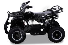 Dětská elektro čtyřkolka ATV Torino 800W 36V černá Vystavni model cena vcetne slozeni