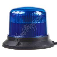 911-E30fblue PROFI LED maják 12-24V 10x3W modrý ECE R10 121x90mm