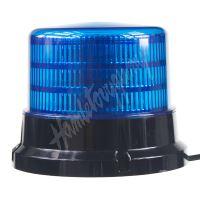 911-75fblu x PROFI LED maják 12-24V 36x0,5W modrý ECE R10 167x132mm