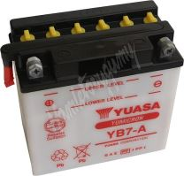 Motobaterie Yuasa YB7-A (12V, 8Ah, 124A)