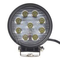 wl-2760B LED světlo kulaté, 9x3W, ECE R10