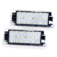 RZre01 LED osvětlení SPZ do vozu Renault 2006-
