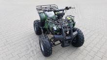 56150 Elektro čtyřkolka ATV 40 km/h. 1200W 60V/20Ah maskáč, tažné zařízení