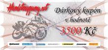 Dárkový kupón v hodnotě 3500 Kč