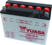 Motobaterie Yuasa 12N18-3 (12V, 18Ah, 190A)
