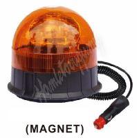 wl85H1 Halogen maják, 12 i 24V, oranžový magnet, ECE R65