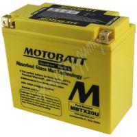 Motobaterie MOTOBATT MBTX20U 12V 21Ah 280A