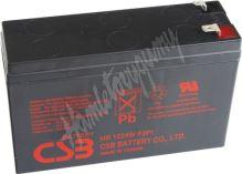 CSB Baterie HR1224W F2 12V 6,4Ah