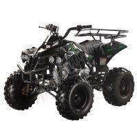 """Dětská čtyřtaktní čtyřkolka ATV Street Hummer DELUX 125ccm černá 3 rych. poloaut. 8"""" kola"""