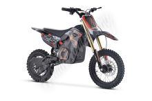 Elektrická motorka MiniRocket Coyote 1500W 48V oranžová kola 14/12 Baterie Lithium