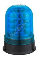 wl93fixblue LED maják, 12-24V, 24x3W modrý ECE R10