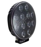 wld1210E LED světlo kulaté, 12x10W, o218mm, ECE R7/R10/R112