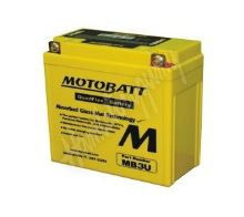 Motobaterie MOTOBATT MB3U 12V 3,8Ah 50A