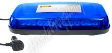 kf14mblu Rampa modrá, 36LEDx1W, magnet, 12-24V, 360mm, ECE R10