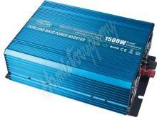 PZ14 Sinusový měnič napětí z 12/230V + USB, 1500W