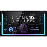 KW-X830BT JVC 2DIN autorádio bez mechaniky/Bluetooth/USB/AUX/Multicolor