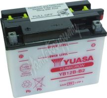 Motobaterie Yuasa YB12B-B2 (12V, 12Ah, 165A)