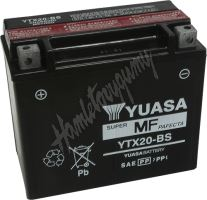 Motobaterie Yuasa YTX20-BS (12V, 18Ah, 270A)