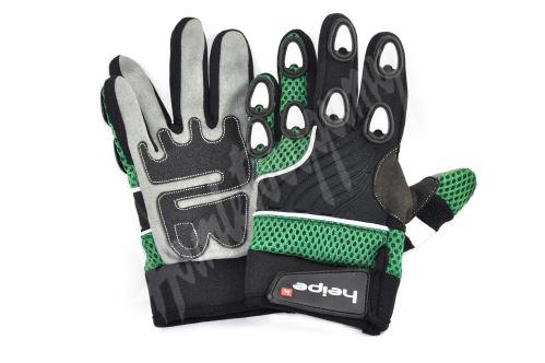 Dětské MotoCross rukavice zelené