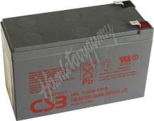 CSB Baterie HRL1234W F2 12V 9Ah