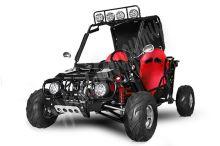 Dětská Buggy 125ccm automat (1+1) černá
