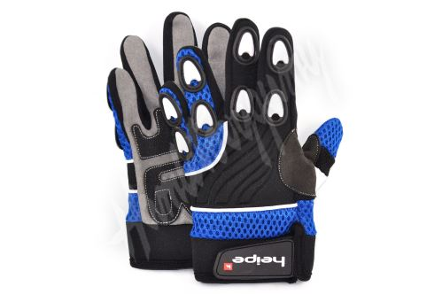 Dětské MotoCross rukavice modré
