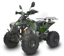 Dětská čtyřtaktní čtyřkolka ATV Warrior XXL 125ccm maskáč zele  3 rych. poloaut. 8