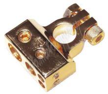 g4-31 Zlacená svorka (-) pólu baterie (4 in) 1x50, 1x20, 2x10 mm2