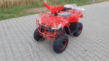 Dětská čtyřtaktní čtyřkolka ATV Čtyřkolka Hummer T-Rex 125ccm červená 1 rych. poloautomat