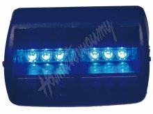 kf748blue x  PREDATOR LED vnitřní, 18x LED, 12V, modrý, 125mm