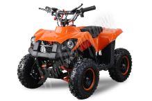 Dětská dvoutaktní čtyřkolka ATV Nitro Trucky 49ccm E-start oranžová