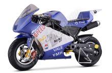 Minibike MiniRocket ZR49 modrý
