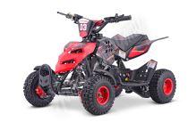 Dětská dvoutaktní čtyřkolka ATV Repti Nitro 49ccm červená