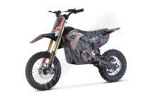 Elektrická motorka MiniRocket Coyote 1300W 48V oranžová kola 12/10