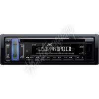 KD-T401 JVC autorádio s CD/MP3/USB/AUX/volitelnou barvou podsvícení tlačítka/odním.panel